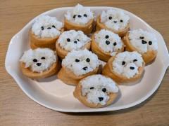 いなり寿司ならぬ「いぬり寿司」?かわいいデコ料理がツイッターで話題のイメージ画像