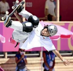 「冬夏」出場の平野歩夢が予選で敗退…スケボー男子パークのイメージ画像