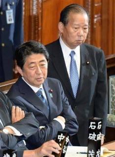 首相「安倍氏と二階氏で」、党本部の1億5千万円提供のイメージ画像