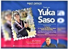 19歳の笹生優花さん、ゴルフ全米女子で優勝 フィリピン国籍初のメジャー制覇で「切手」のモデルにのイメージ画像