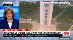 中国ロケットの残骸、近く地球落下へ 過去に前例ありのイメージ画像