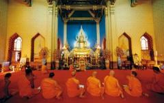 バンコクの寺院で不法入国カンボジア人僧侶27人を逮捕のイメージ画像