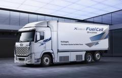 【韓国】現代自が米企業と提携、燃料電池トラックでのイメージ画像