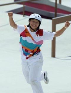 13歳西矢椛「最新記録だと思うんですよ、金メダル」中山楓奈と「ラスカルの話」のイメージ画像
