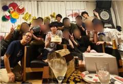 コロナ感染 田中圭 20人超で深夜誕生日パーティーのイメージ画像