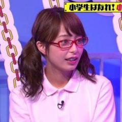 TBS・宇垣アナ ミニスカ&ツインテールでエロ可愛さアップ!