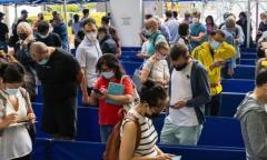 香港、5/13の新型コロナ市中感染確認は1人…輸入性2人中1人がL452R変異株ウイルスのイメージ画像