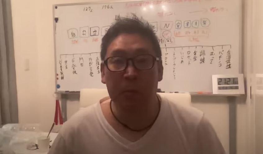 「コロナは風邪」発言の立花孝志氏 感染で体調回復せず入院検討