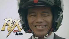 現インドネシア大統領が実は仮面ライダーだった件
