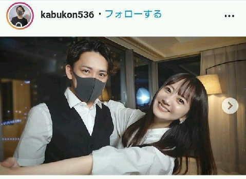 """浜田翔子、""""婚活YouTuber""""カブキンと結婚発表「今後は二人で活動する機会も」"""