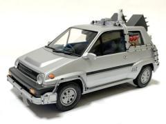もしも「デロリアン」が日本車だったら?「ホンダ・シティのタイムマシン」のイメージ画像