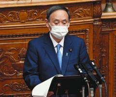 菅首相 第4波をかたくなに否定「大きなうねりとなっていない」のイメージ画像