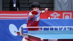 16歳・木原美悠、同世代の五輪韓国代表に完封勝利<卓球・WTTコンテンダードーハ>のイメージ画像