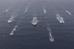 米・英・仏の空母が北東アジアに集結へ…国連軍がくるのイメージ画像