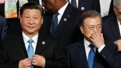 """ますます露骨になる中国の対韓国""""上から目線""""――「文在寅外交は無気力、無力、能力不足」と酷評のイメージ画像"""